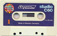 studio_c60_071201 audio cassette tape