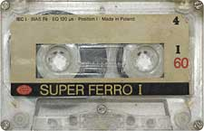 super_ferro_i_60_071201 audio cassette tape