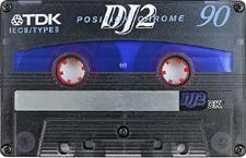 tdk_dj2_90 audio cassette tape