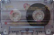 tdk_ieci_74 audio cassette tape
