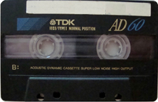 tdk_ieci_ad_60 audio cassette tape