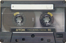 tdk_le_black_ar90_080417 audio cassette tape