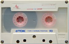 tdk_le_white_ar90_080417 audio cassette tape