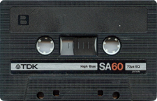 tdk_sa_60 audio cassette tape