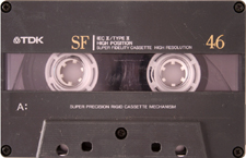 tdk_sf46 audio cassette tape