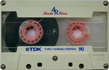 tdkarsp audio cassette tape