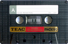 teac_mdx90 audio cassette tape