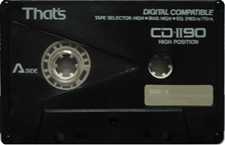 that`s_cdii90 audio cassette tape
