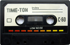 time_ton_c_60_081001 audio cassette tape