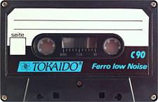 tokaido_ferro_lownoise_c90_oge_120922 audio cassette tape