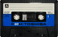 toshiba_c-60ax audio cassette tape