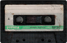toyota audio cassette tape