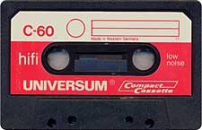 universum_c60_1977_071201 audio cassette tape