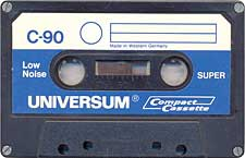 universum_super_low_noise_c90_071201 audio cassette tape