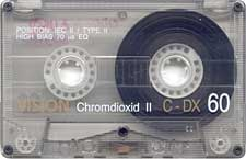 vision_-_chromdioxid_60_080417 audio cassette tape