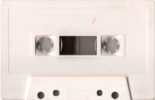 white_c60_variation_1 audio cassette tape