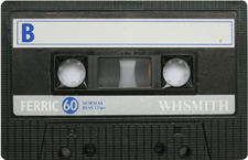 whsmith audio cassette tape