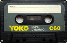 yoko_c60_081001 audio cassette tape